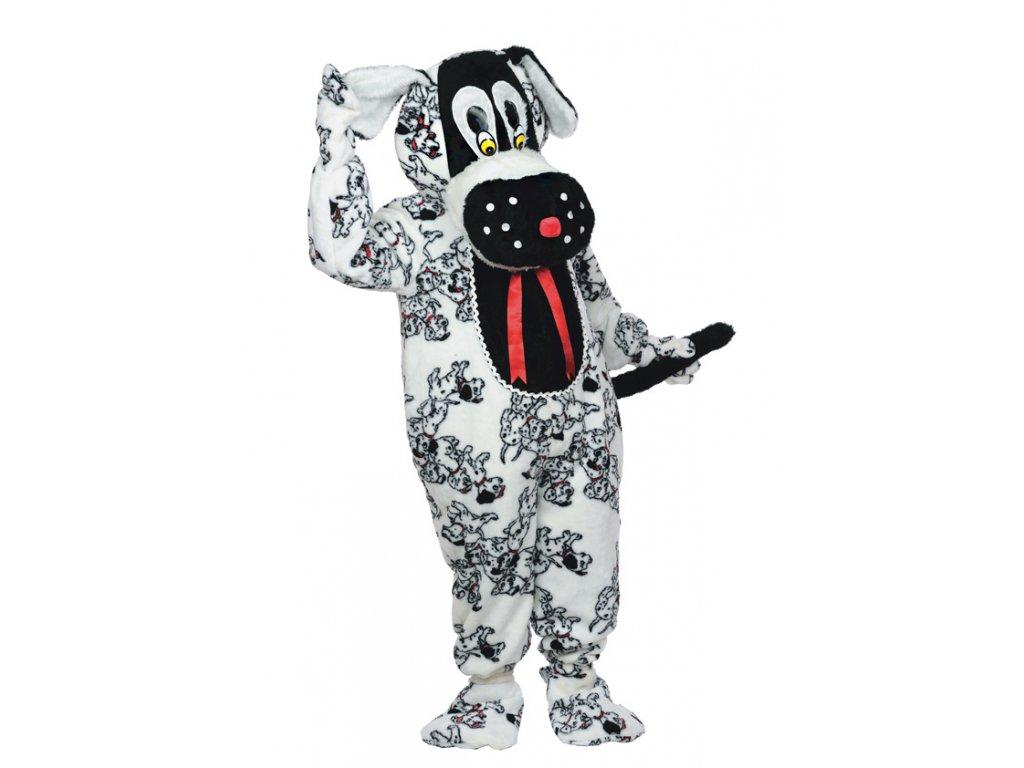 Maskot DALMATIN  pánský karnevalový kostým