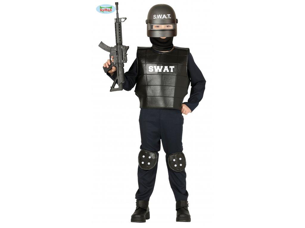 Policista SWAT kostým dětský