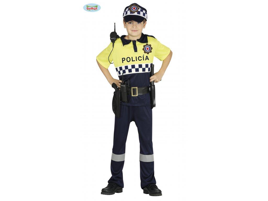 Policista kostým dětský