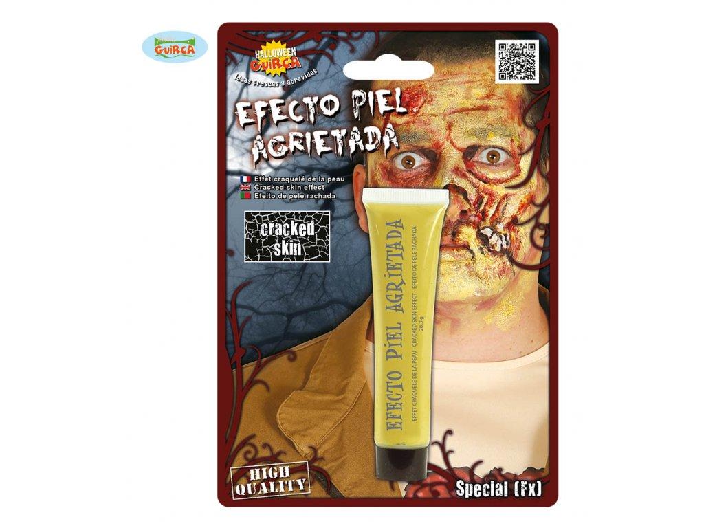 Zombie - kůže obarvená  Halloween