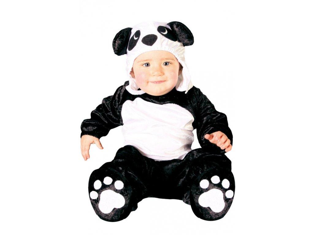 Panda - kostým do 12 měsíců