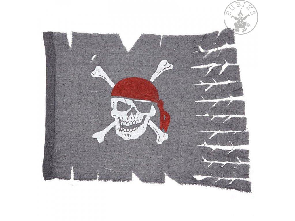Pirátská vlajka 70 x 95 cm