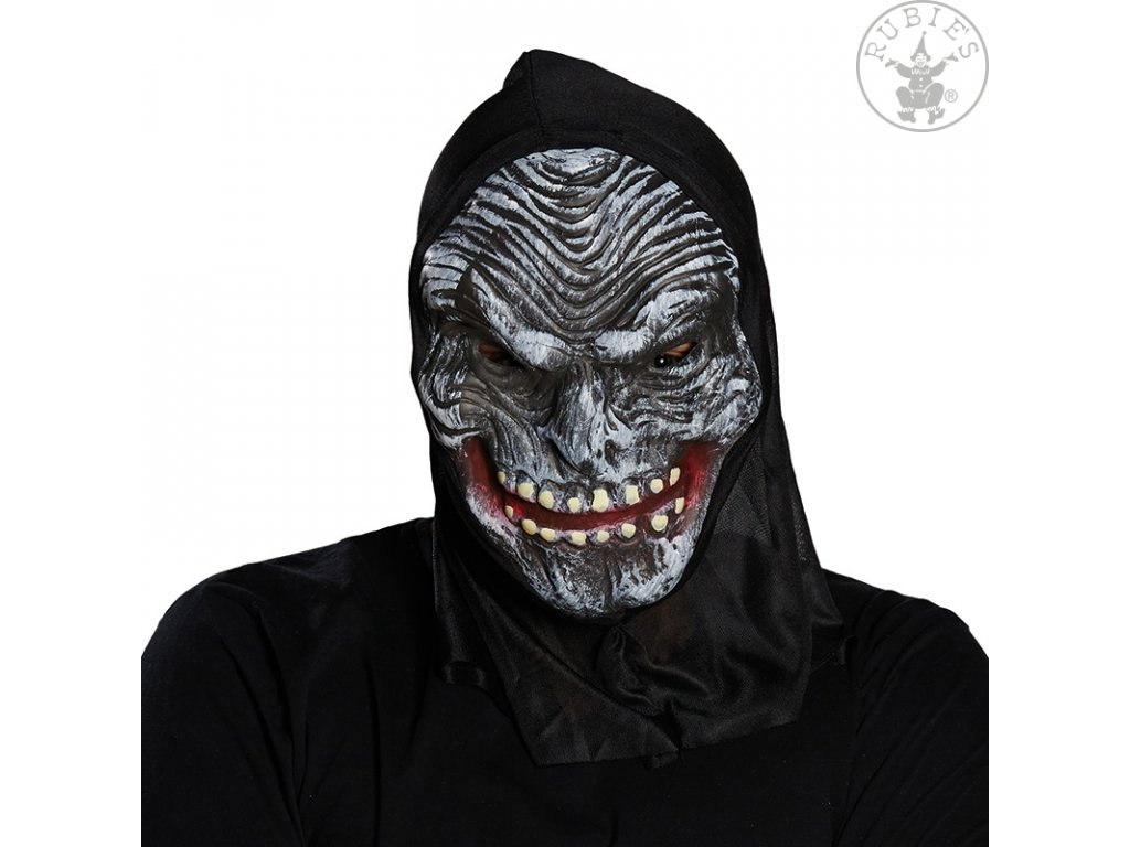 Maska HORROR s kapucí  Halloween