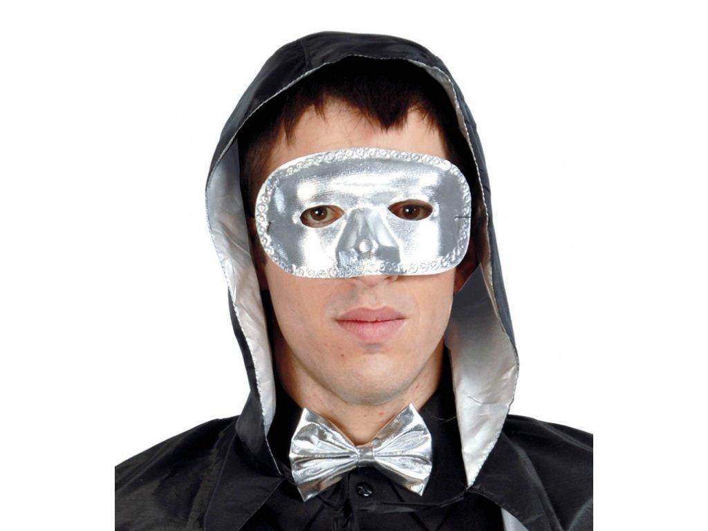 Maska stříbrná D