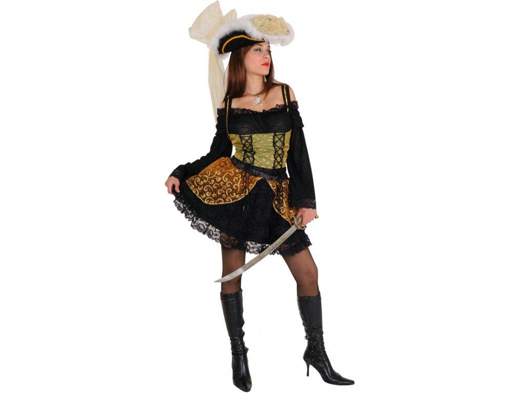 Kostým SEXY KAPITÁNKA  dámský karnevalový kostým