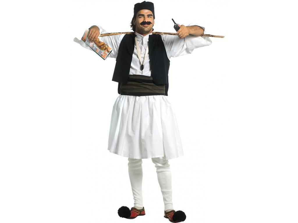 Kostým  ŘEK  pánský karnevalový kostým