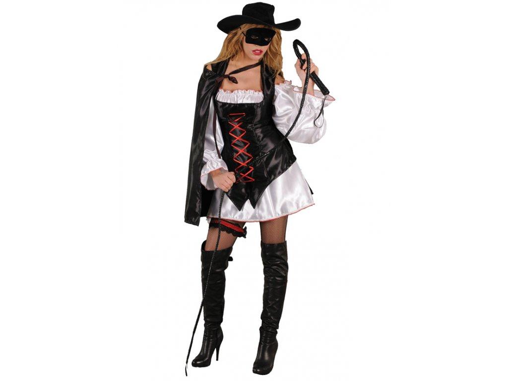 Kostým ZORRO GIRL  dámský karnevalový kostým