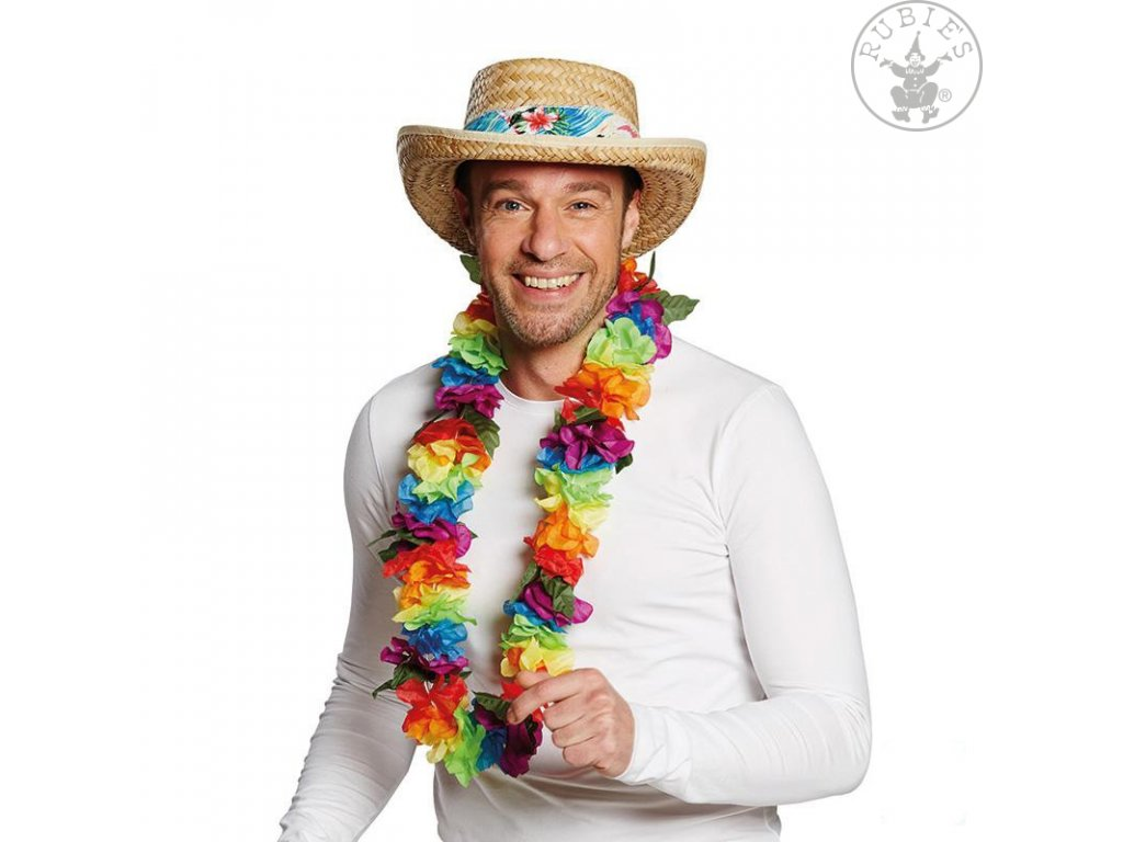 Slaměný klobouk HAWAII D