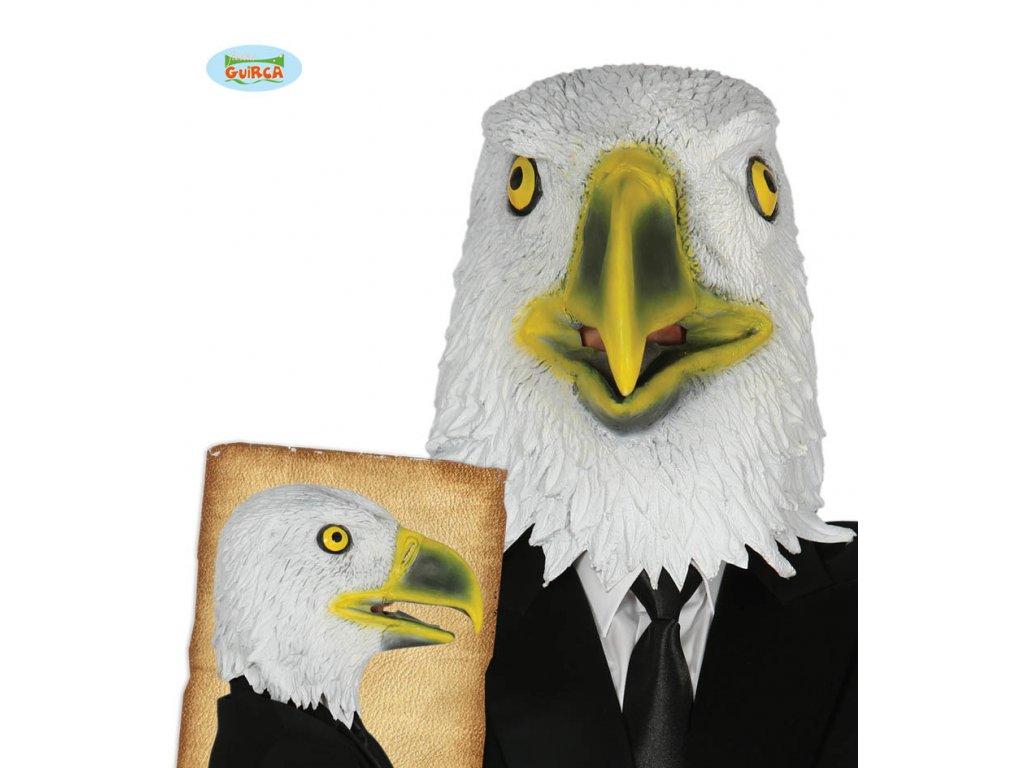Latexová maska orla