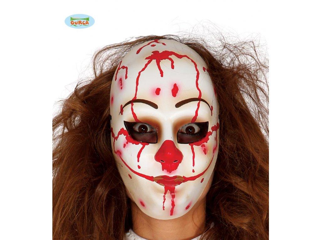 Maska klauna - halloween  Halloween