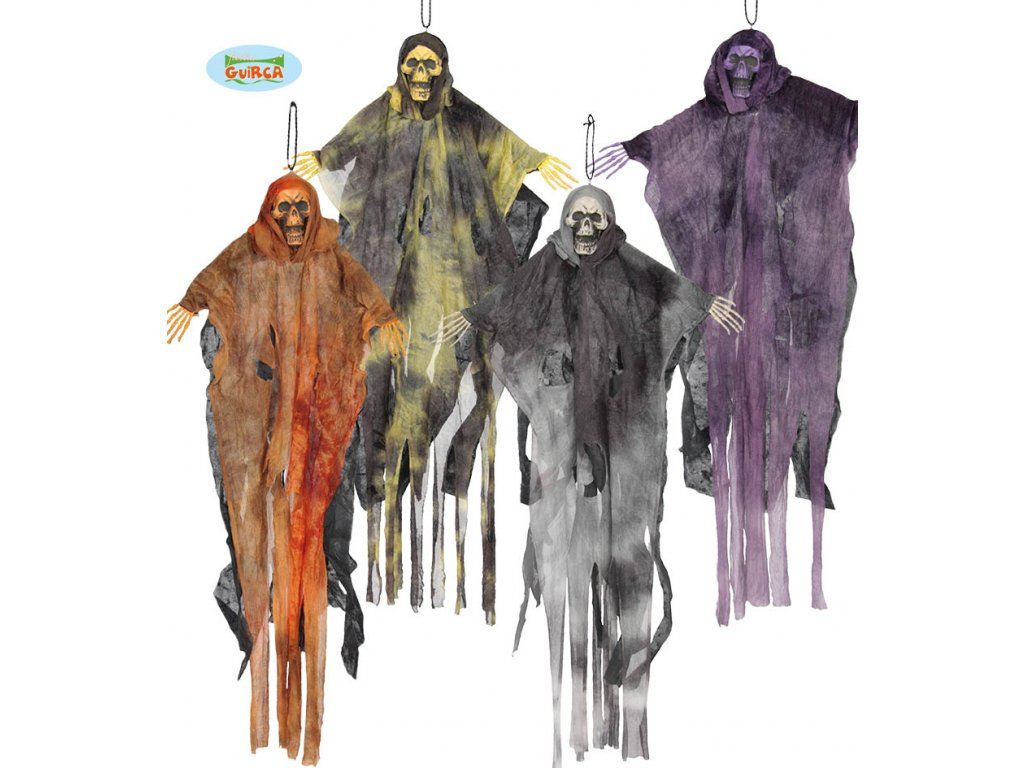 Závěsné strašidlo 64 cm  závěsná dekorace Halloween