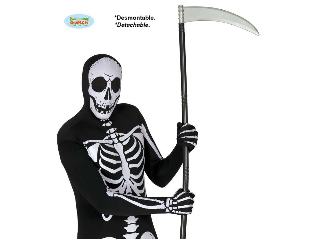 Kosa skládací 100 cm  Halloween