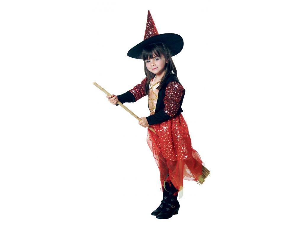 Čarodějnice 1 - 2 roky D  dětský dívčí karnevalový maškarní kostým