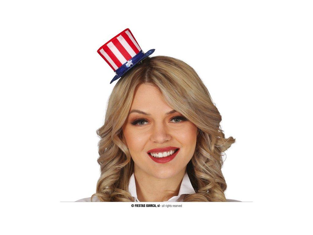 Miniklobouček Amerika na čelence