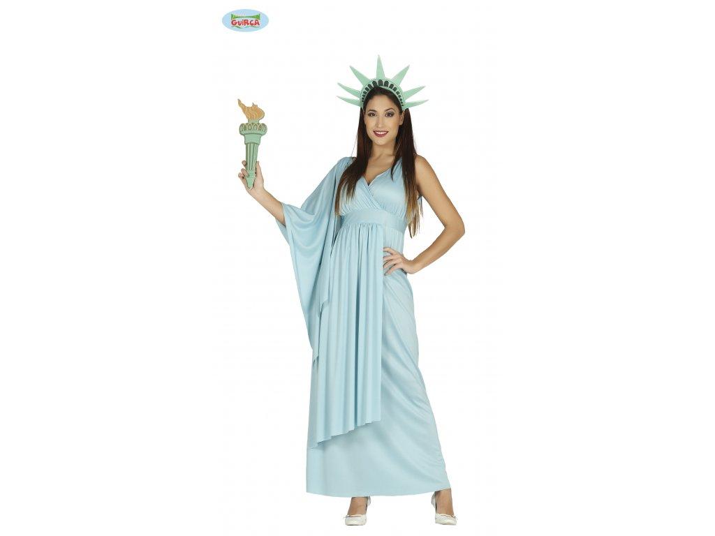 Socha Svobody kostým dámský