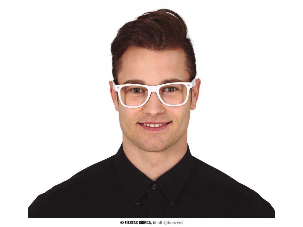 Brýle bílé