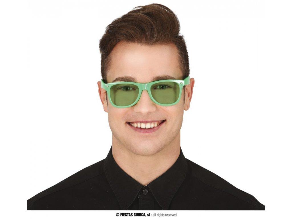Brýle zelené