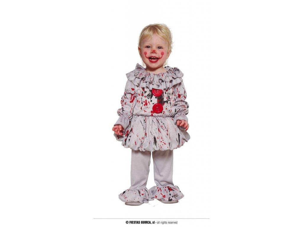 Zlý klaun kostým pro nejmenší