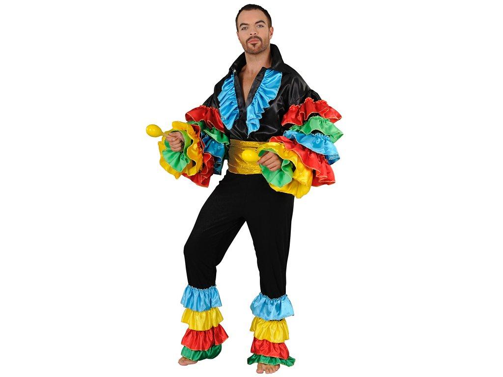 Brazilský tanečník  pánský karnevalový kostým