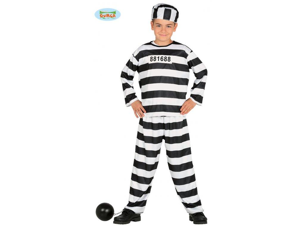 Vězeň dětský - karnevalový kostým
