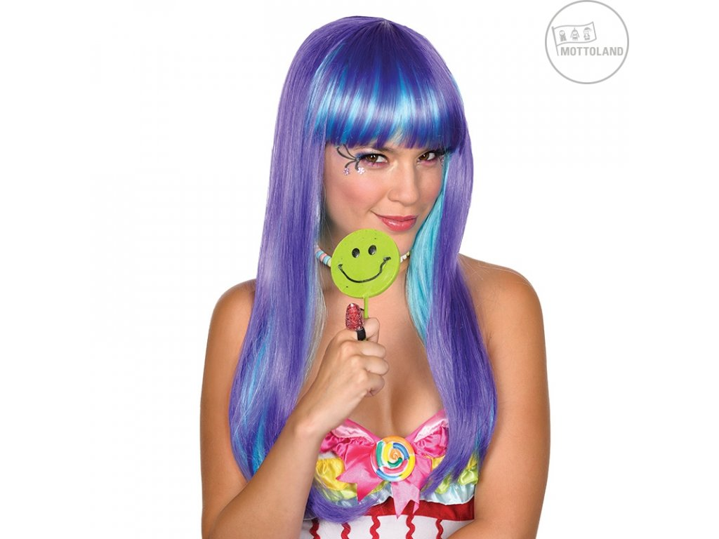 Candy Babe Wig lilla - paruka