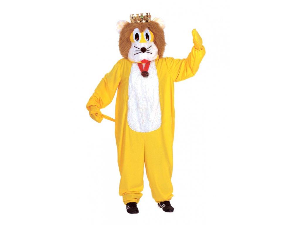 Lev - kostým  pánský karnevalový kostým