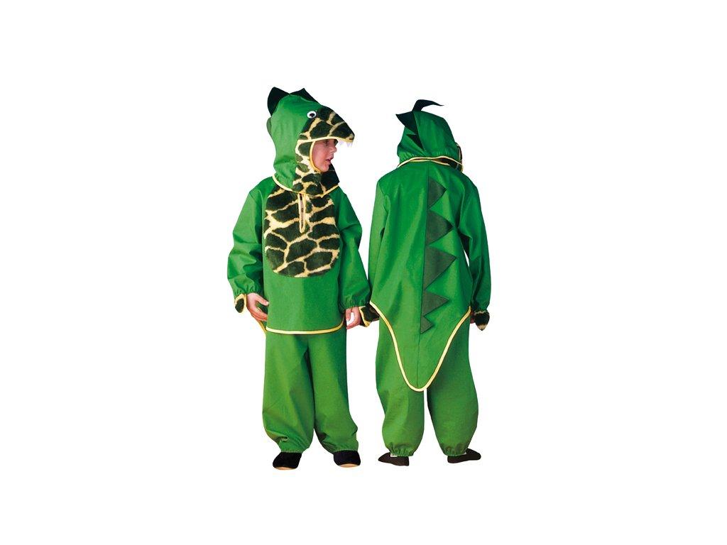 Dětský kostým dino vel. 92 - VADA