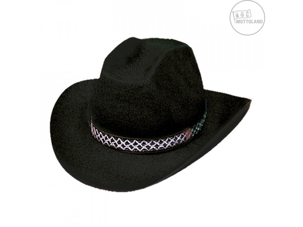 Kovbojský klobouk DALLAS černý