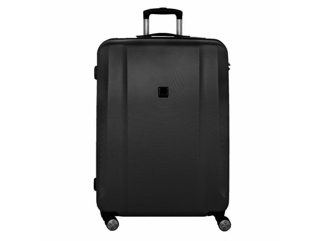 Titan Xenon L Black  skořepinový cestovní kufr