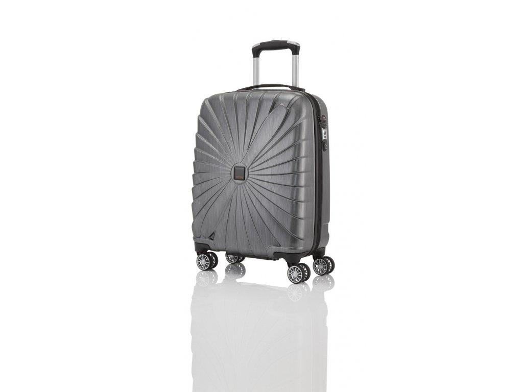 Titan Triport 4w S Anthracite  superlehký skořepinový cestovní kufr na čtyřech kolečkách