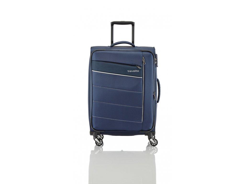 Travelite Kite 4w M Navy  + textilní rouška ke každé objednávce zdarma