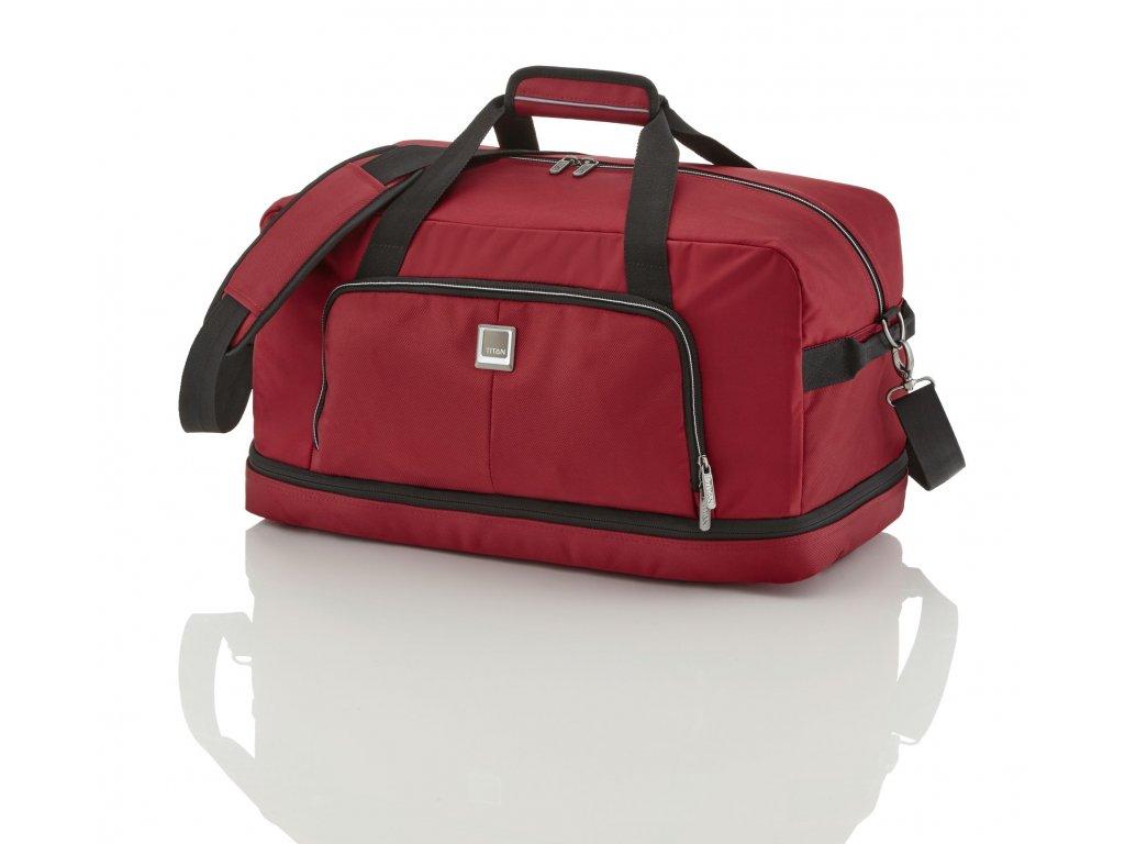 Titan Nonstop Travel Bag Red