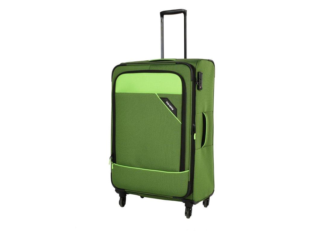 Travelite Derby 4w L Green  + textilní rouška ke každé objednávce zdarma