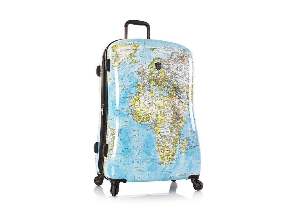 Heys Journey 2G L  skořepinový cestovní kufr na čtyřech kolečkách + textilní rouška ke každé objednávce zdarma