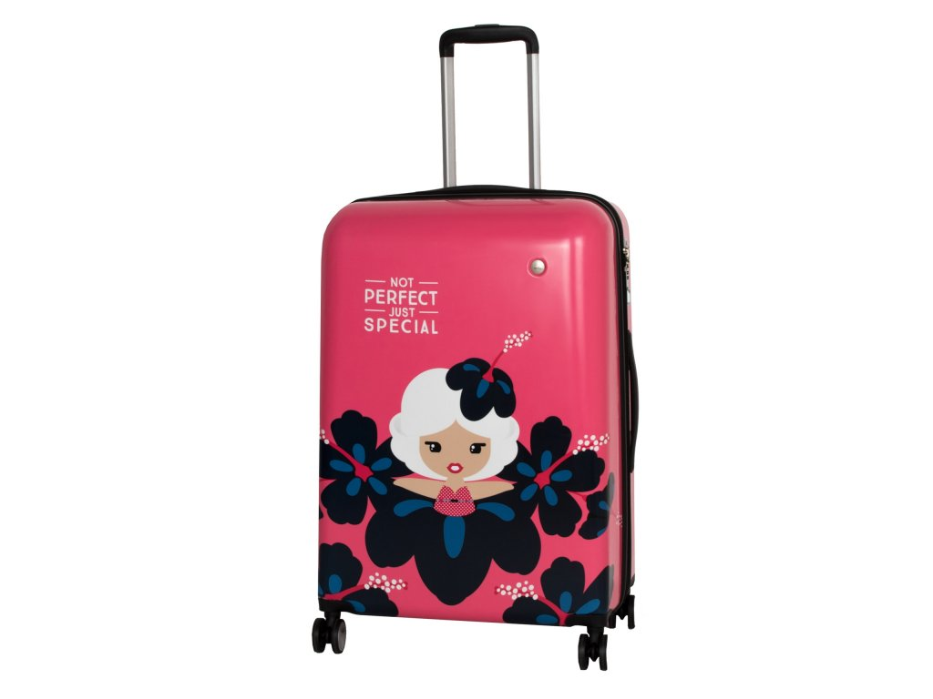 Travelite Lil' Ledy 4w M hardcase Coral