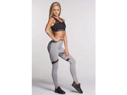 Legíny Gym Glamour Mixed Grey Heart