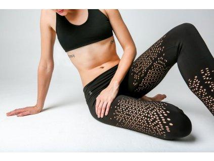 Yoga Legíny - MoonDancer XS  + textilní rouška ke každé objednávce zdarma