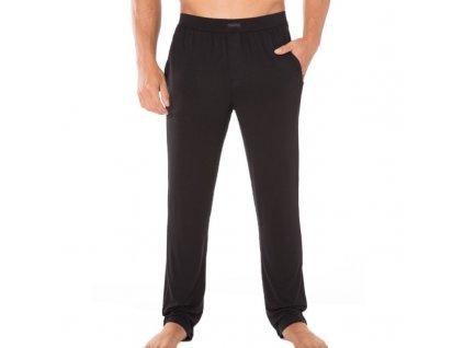 Calvin Klein Pánské Kalhoty Na Doma Černé  + textilní rouška ke každé objednávce zdarma
