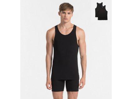 Calvin Klein 2Pack Tílka Pánská Černá L