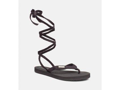 Calvin Klein Wrap Slipers Black
