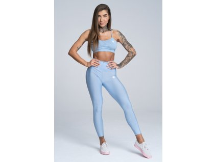 Legíny Gym Glamour High Waist Dream Blue