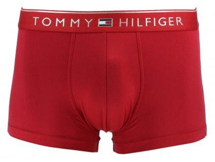 Tommy Hilfiger Boxerky Valentine Červené M  + textilní rouška ke každé objednávce zdarma