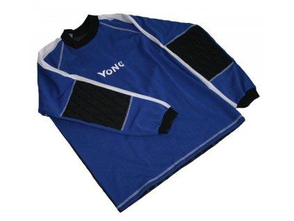 Florbalový dres vesta brankářský Standard velikost XL modrý