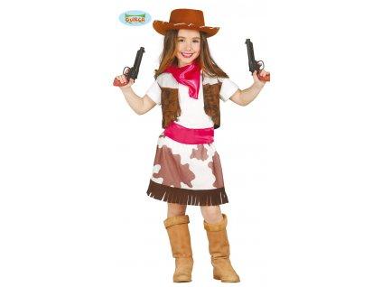 Dětský kostým - kovbojka x