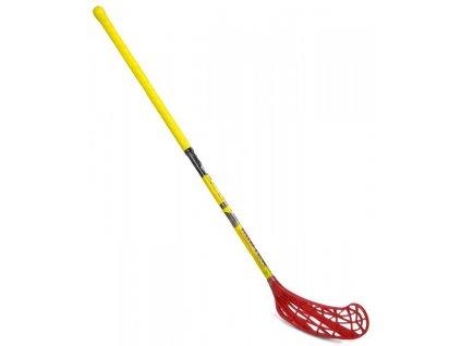 Florbal hůl HUNTER IFF UNIHOC délka 100 cm žlutá pravá