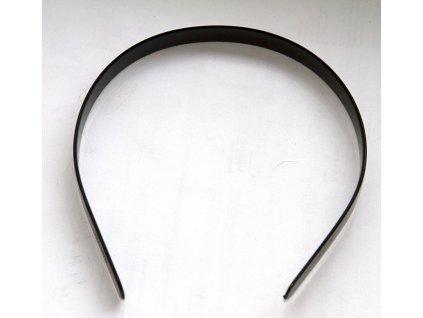 Vlasová spona - čelenka plast černá