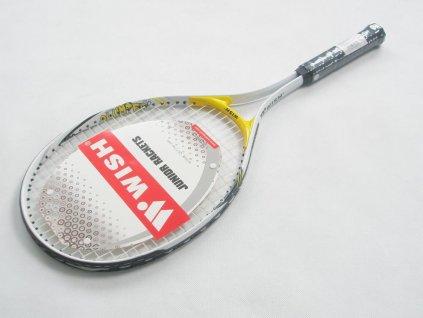 Tenis raketa WISH JR 2400 barevné provedení žluté délka 63 cm