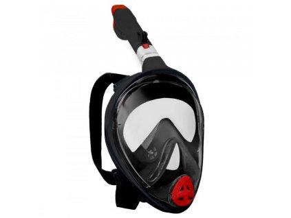 Potápěcí celoobličejová maska/brýle se šnorchlem SEDCO + GoProAD.