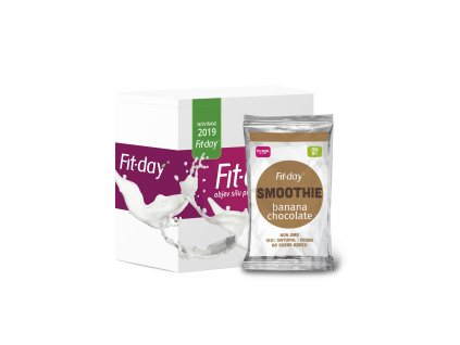 Fit day smoothie banan cokolada 12x30g