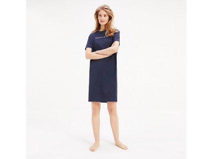 Tommy Hilfiger Košilka Half Sleeve Navy S  + textilní rouška ke každé objednávce zdarma